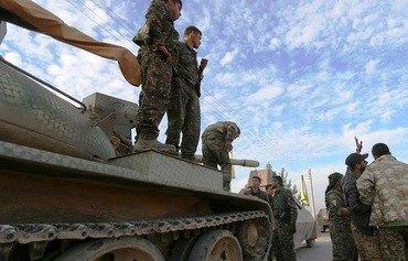 قوات سوريا الديموقراطية تتقدم نحو محافظة الرقة
