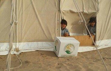 مبادرات خيرية تساعد الأسر اليمنية المحتاجة