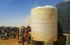 اللاجئون السوريون 'مرتاحون' بعد استئناف الأردن تزويدهم بالمياه في الركبان