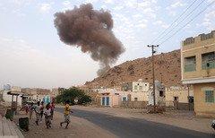 Les Yéménites dénoncent les attaques contre des points de contrôle d'al-Mukalla