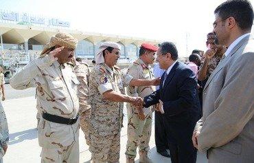 حكومة المنفى اليمنية تعود إلى عدن