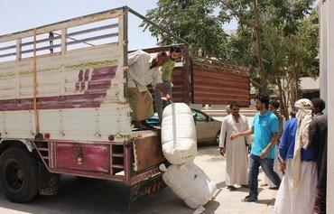 منظمة حكومية في اليمن تدعو إلى مزيد من الدعم للنازحين