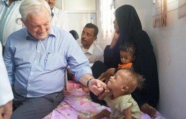 مسؤول الشؤون الإنسانية في الأمم المتحدة يدعو إلى إنهاء الحرب في اليمن