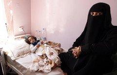اليمن يكافح لاحتواء تفشي الكوليرا