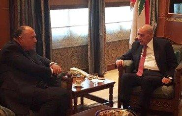 تنسيق بين مصر ولبنان لمكافحة التطرف