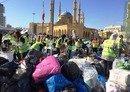 پناهندگان سوریه ای در لبنان خود را برای هوای زمستانی آماده می کنند