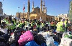 اللاجئون السوريون في لبنان يستعدون لفصل الشتاء