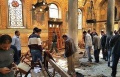 مصر في حداد بعد التفجير الدامي في كنيسة بالقاهرة