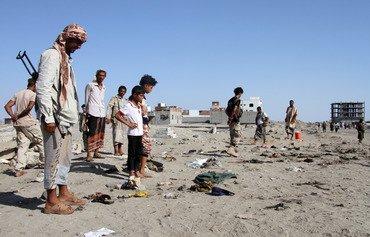 اليمن يتعهد بالقضاء على الإرهاب إثر تفجيرات داعش