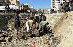 النقد مقابل العمل يخلق فرص عمل للنازحين في اليمن