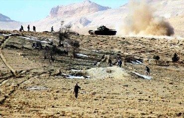 الجماعات الجهادية المتناحرة تخوض حرب تصفيات في عرسال بلبنان