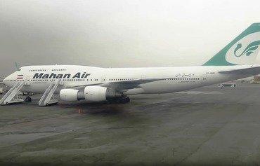 ماهان للطيران تساند النزاعات المدعومة من إيران في الشرق الأوسط