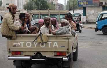 القبائل اليمنية تتصدى لتنظيم القاعدة في شبوة