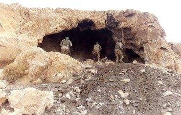 الجيش المصري يقتحم جبل الحلال وسط سيناء