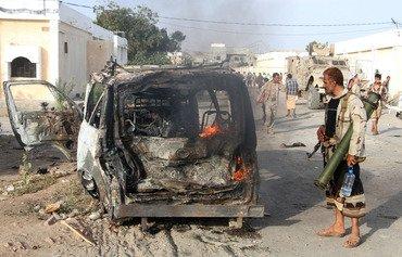 تأهب إثر هجوم القاعدة في لحج في اليمن