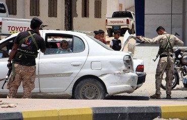 نگهبانان حضرموت یمن علیه القاعده