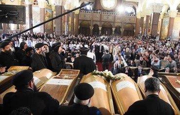 همبستگی مصر پس از بمب گذاری های یک کلیسا