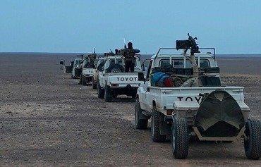 فصائل سورية تتحدى داعش في منطقة حدودية