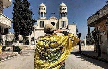شبه نظامیان هوادار حکومت سوریه وارد شهر مسیحی نشین شده اند