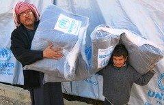 بطاقة الإغاثة المشتركة تربك اللاجئين