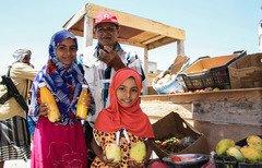 کمک امارات متحده عربی در پشتیبانی از مردم یمن در مناطق آزاد شده