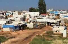 المياه الملوثة في مخيمات اللاجئين السوريين تثير قلق المسؤولين اللبنانيين