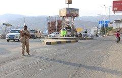 قوات النخبة اليمنية تتصدى لهجوم القاعدة
