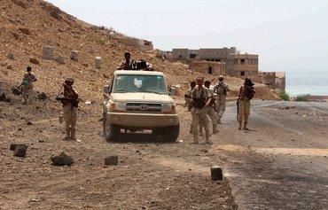 مردم یمن بعد از حمله القاعده شجاعت نیروهای نخبه حضرموت را ستودند