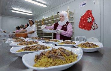 الجمعيات الخيرية تعزّز جهودها لمساعدة اللاجئين في لبنان خلال شهر رمضان