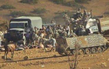 بمب گذاران انتحاری ارتش لبنان در عرسال را هدف قرار دادند