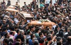 محكمة مصرية تستجوب المتهمين في تفجيرات الكنائس