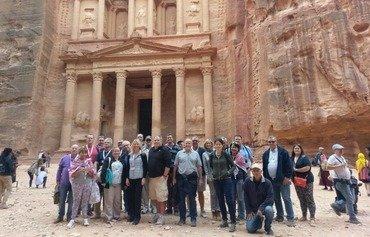 قطاع السياحة في الأردن يحقق نموا في العام ٢٠١٧