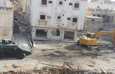القوات السعودية تقتحم بلدة في شرق المملكة بحثًا عن مسلحين موالين لإيران