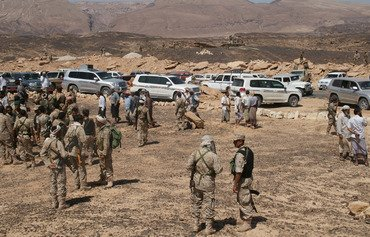 قوات النخبة في شبوة تهاجم معاقل تنظيم القاعدة