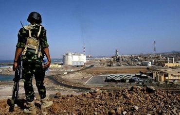 Les forces d'élite de Shabwa sécurisent les installations économiques