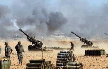 الجيش اللبناني يطلق عملية عرسال ويسيطر على مواقع داعش