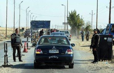 عناصر داعش يفرون وسط حملة الجيش المصري في سيناء