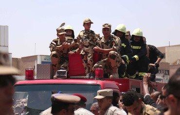 الجيش المصري يقصف داعش عقب هجوم على الشرطة