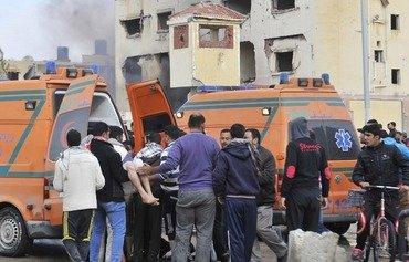 ارتش مصر 6 عنصر داعش را در شبه جزیره سینا به قتل رساند