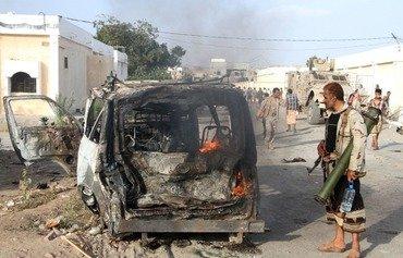 القوات اليمنية تشنّ حملة ضد القاعدة في لحج وأبين