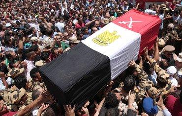 یک سرباز مصری حمله تروریستی به سینا را خنثی کرد