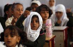 اليونيسف: تعليم 4.5 مليون طفل يمني على المحك