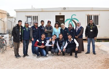 مجلة تعبّر عن صوت اللاجئين في مخيم الزعتري