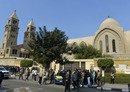 برگزاری مراسم نیایش در کلیسای قاهره در نخستین سالگرد حمله تروریستی