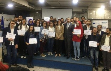 اعطای بورسیه به دانشجویان سوری و لبنانی با استفاده از طرحی که بودجه آن را اتحادیه اروپا تأمین کرده است