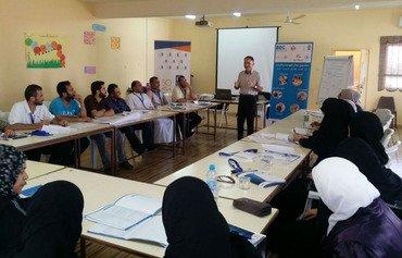 آموزش مهارتهای قابل بازاریابی از سوی پناهندگان سوری به اردنی ها