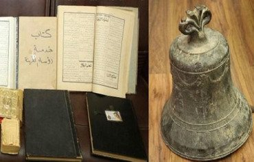 اشیاء باستانی دینی سرقت شده بوسیله گروه ترور در لبنان بازیابی شد