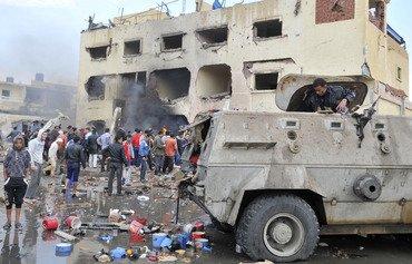 القوات المصرية تقتل ثمانية مسلحين في سيناء