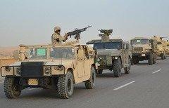 الجيش المصري يعلن تنفيذ عملية واسعة النطاق في سيناء ودلتا النيل