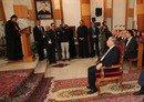 الرئيس اللبناني يقوم بزيارة تاريخية للعراق